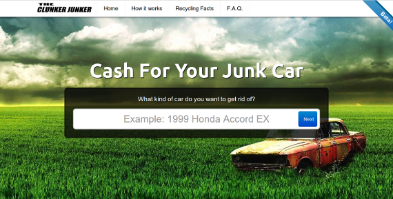 Tell us about your junk car