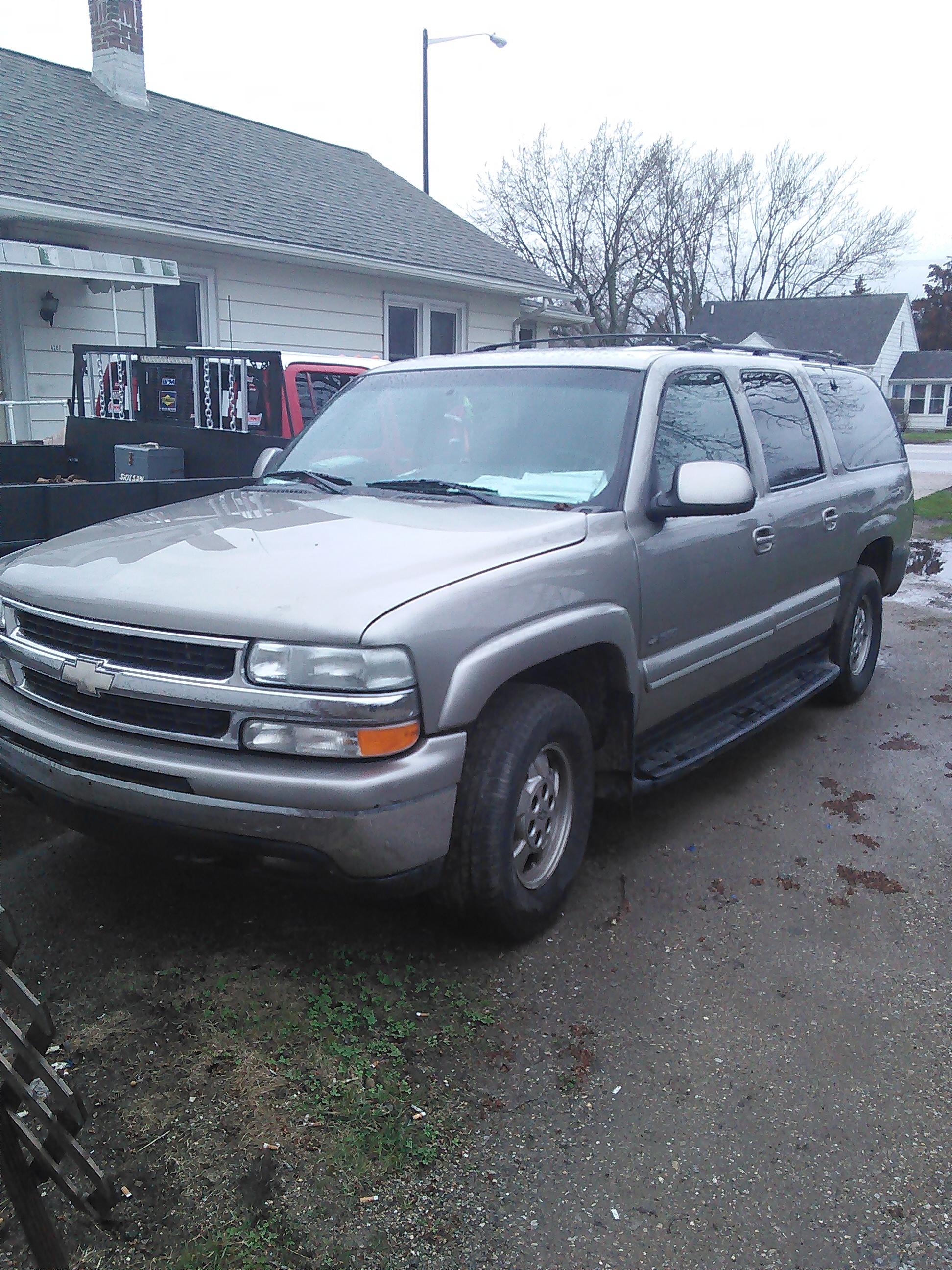 2001 chevrolet suburban k1500