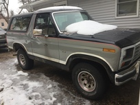 1986 Ford Bronco 4 Wd