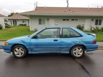 1993 Ford Escort GT since mid-year